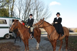 Opening meet of the foxhunting season