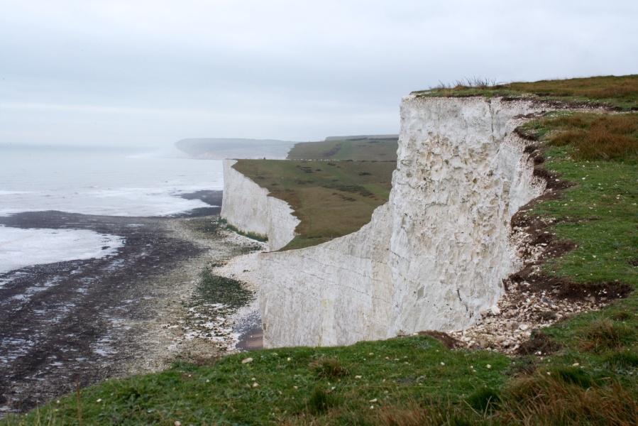 Chalk cliffs at Beachy Head
