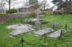 Cemetery in East Dean