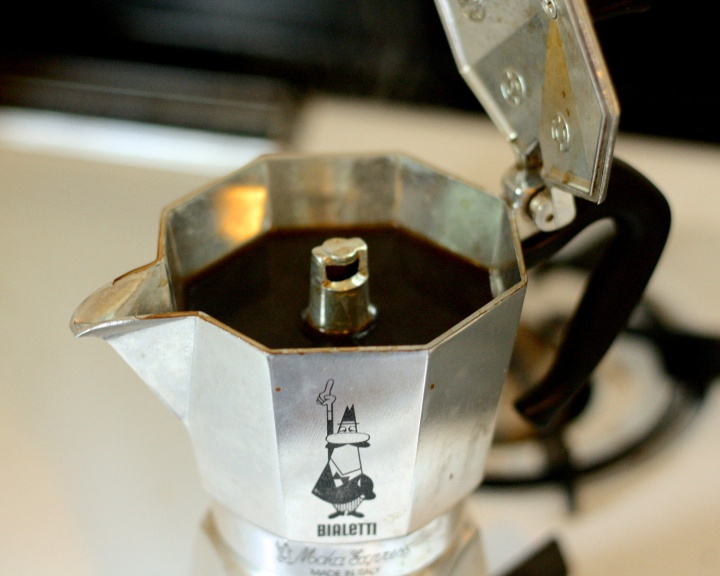 Bialetti Moka Express after Brewing